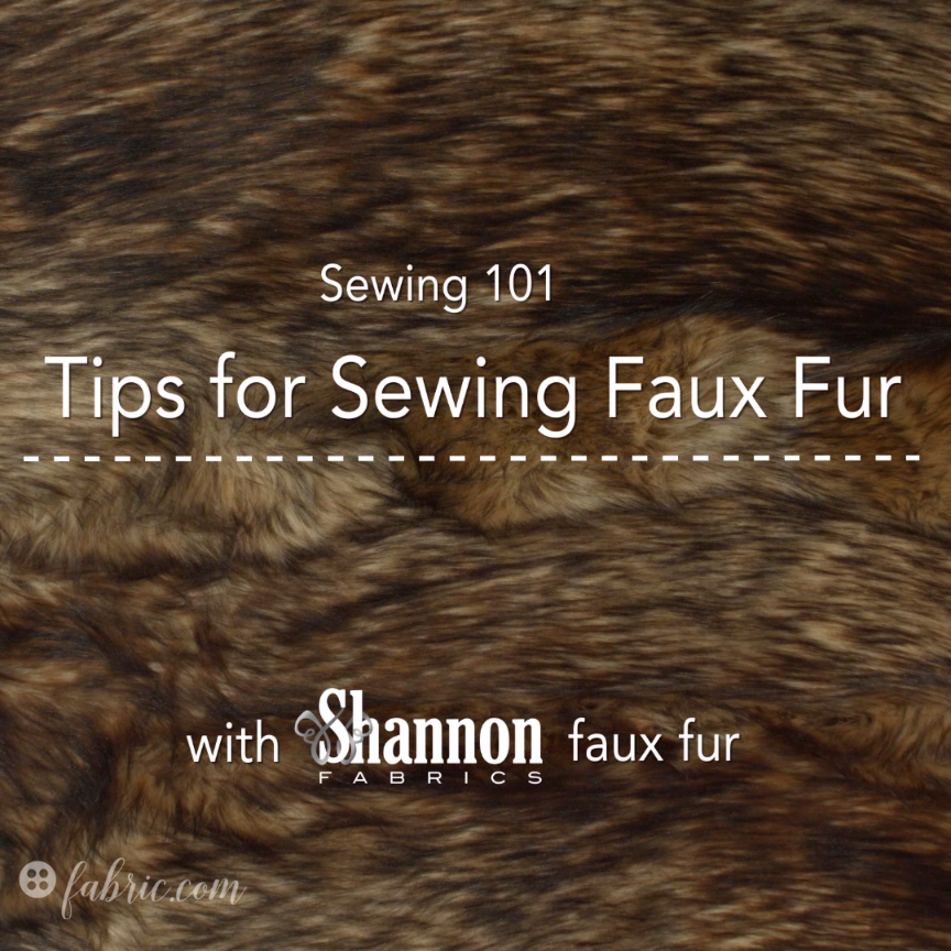 Photo of Sewing 101: Tips for Sewing Faux Fur
