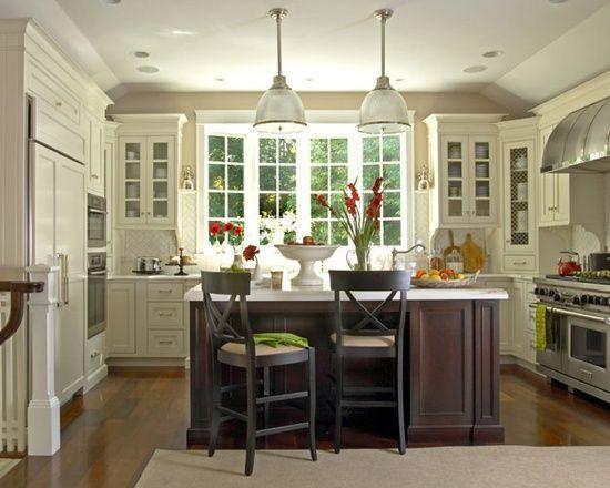 U Shaped Kitchen With Island Layout Google Search Kitchen