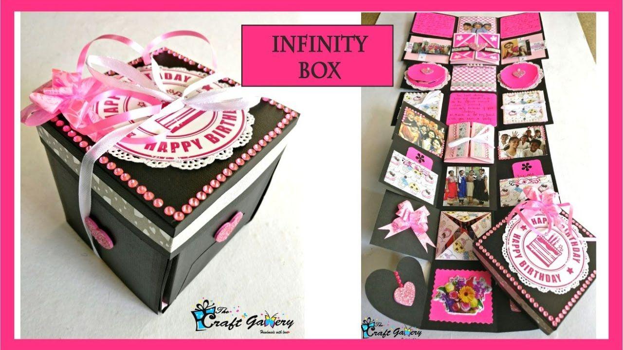 Birthday Gift For A Best Friend Infinity Box Prezent Kartki