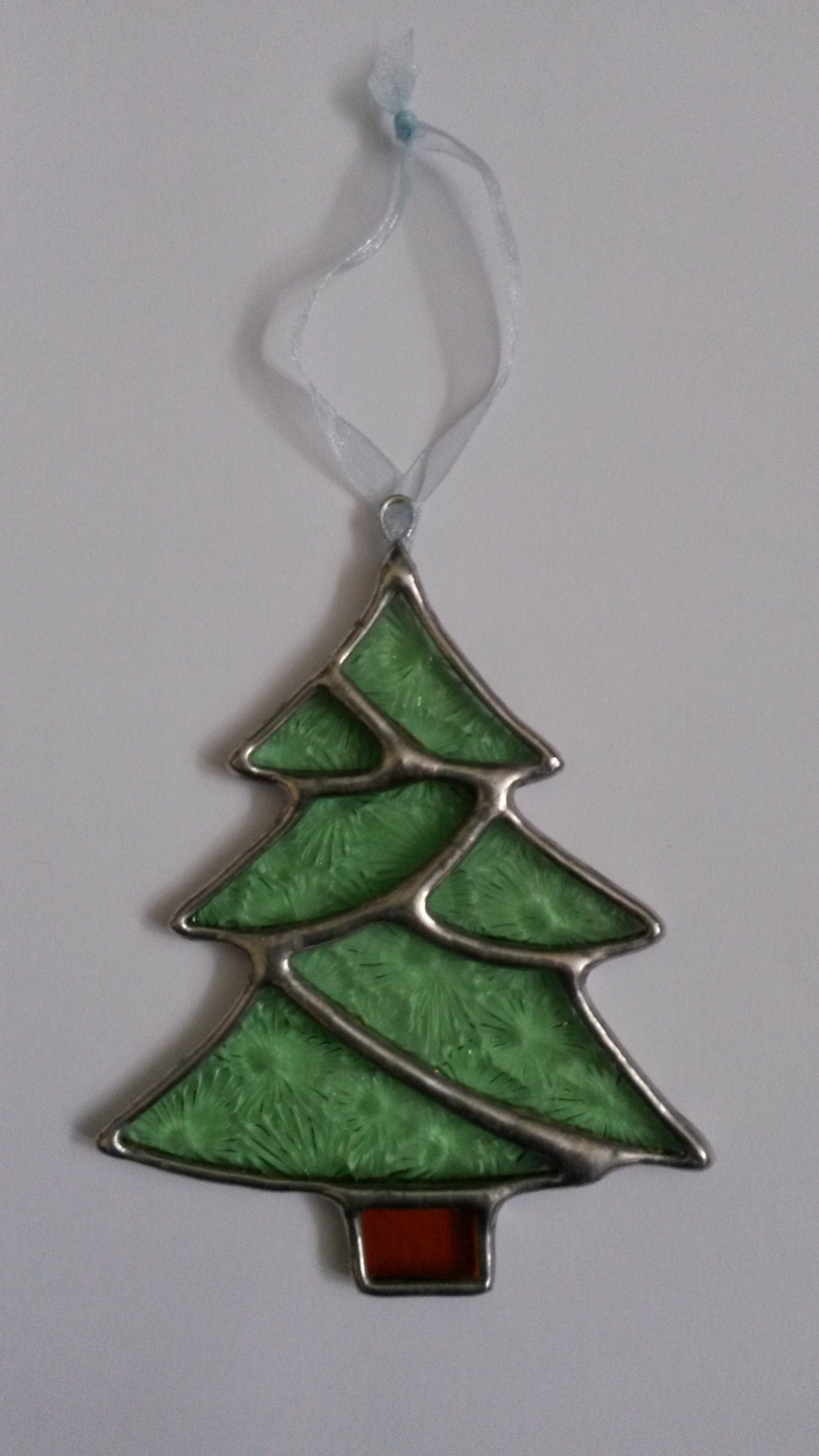 Christmas Tree Stained Glass Christmas Decoration Stained Glass Christmas Stained Glass Ornaments Stained Glass Diy