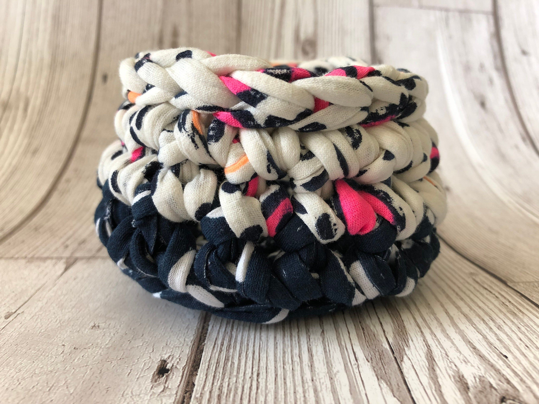 Crochet Bowl, Small crochet bowl, crochet storage #crochetbowl
