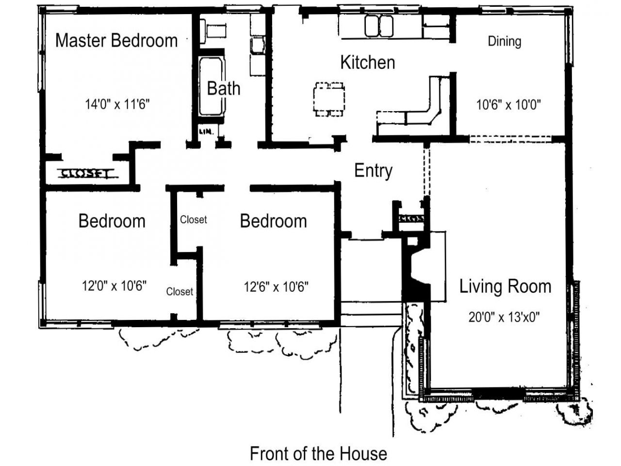3 Bedroom House Plans In Kenya Small House Plans Free Simple