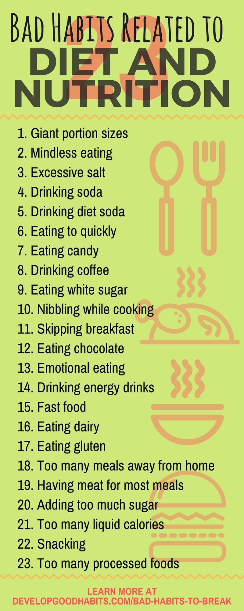 283 Schlechte Angewohnheiten (Die ultimative Liste der schlechten Angewohnheiten)   – Health