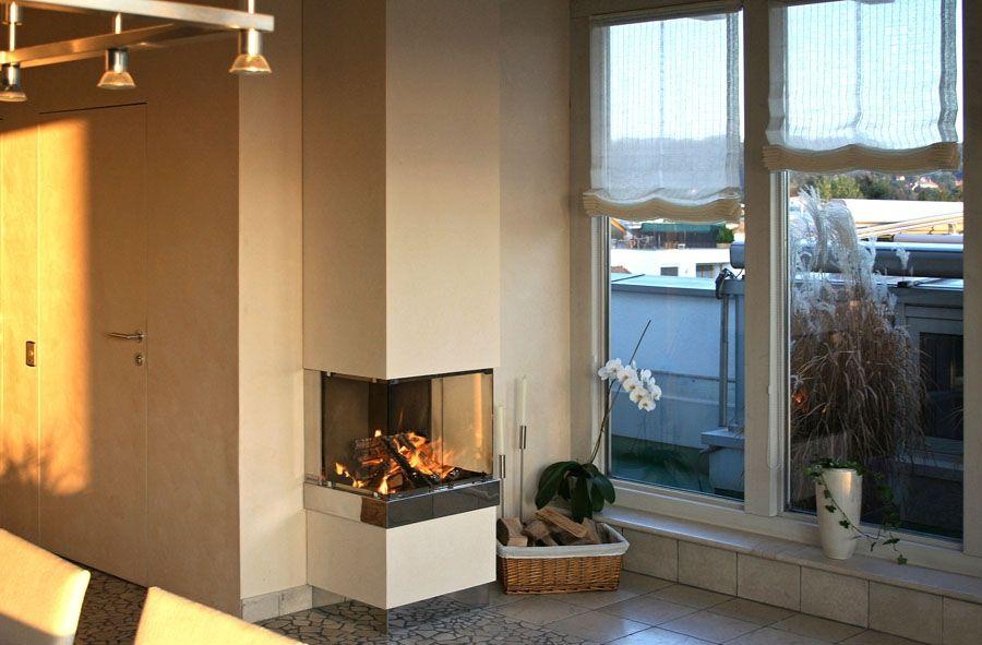 klein aber fein 3 seitig einsichtiger offener kamin sch ne sachen pinterest. Black Bedroom Furniture Sets. Home Design Ideas