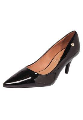 e92ca5ee2 Scarpin Vizzano Bico Fino Salto Baixo Preto. Encontre este Pin e muitos  outros na pasta Shoes ...