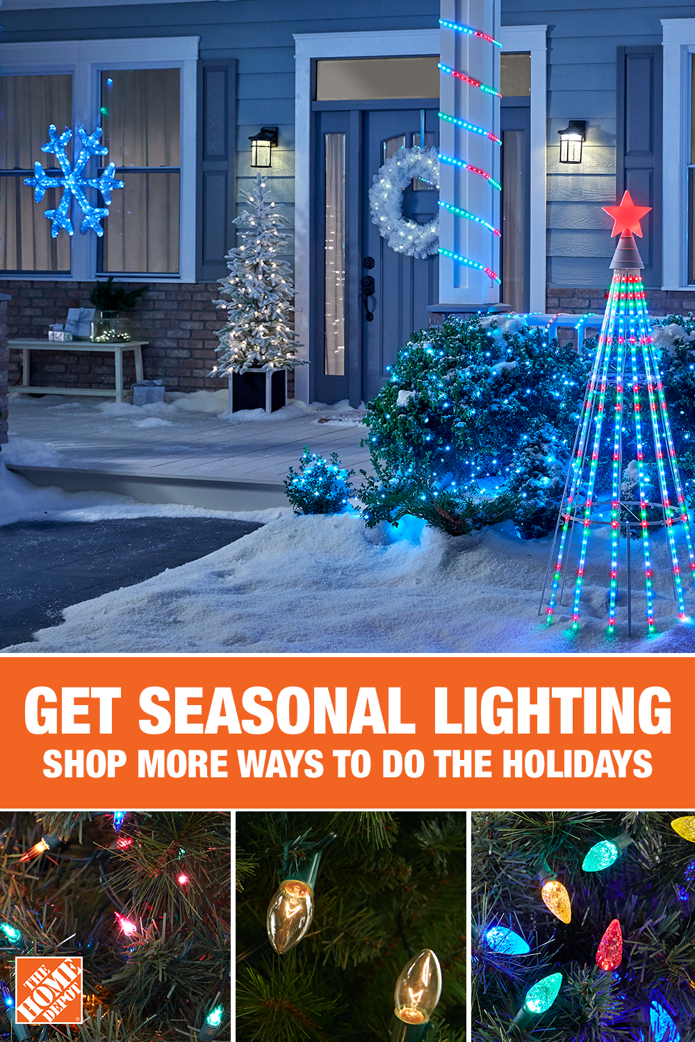 Light Up The Season With Holiday Lighting For Your Home This Year Find Everything You Holiday Decor Christmas Outdoor Christmas Decorations Christmas Lights