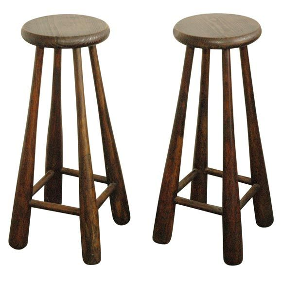 Superior Baseball Bat Stools  Vintage Bats For Legs And Bases As Seat. Can Custom  Stencil
