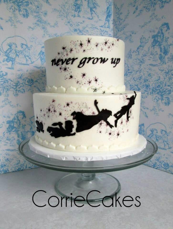 Peter Pan With Images Disney Wedding Cake Cake Peter Pan Cakes