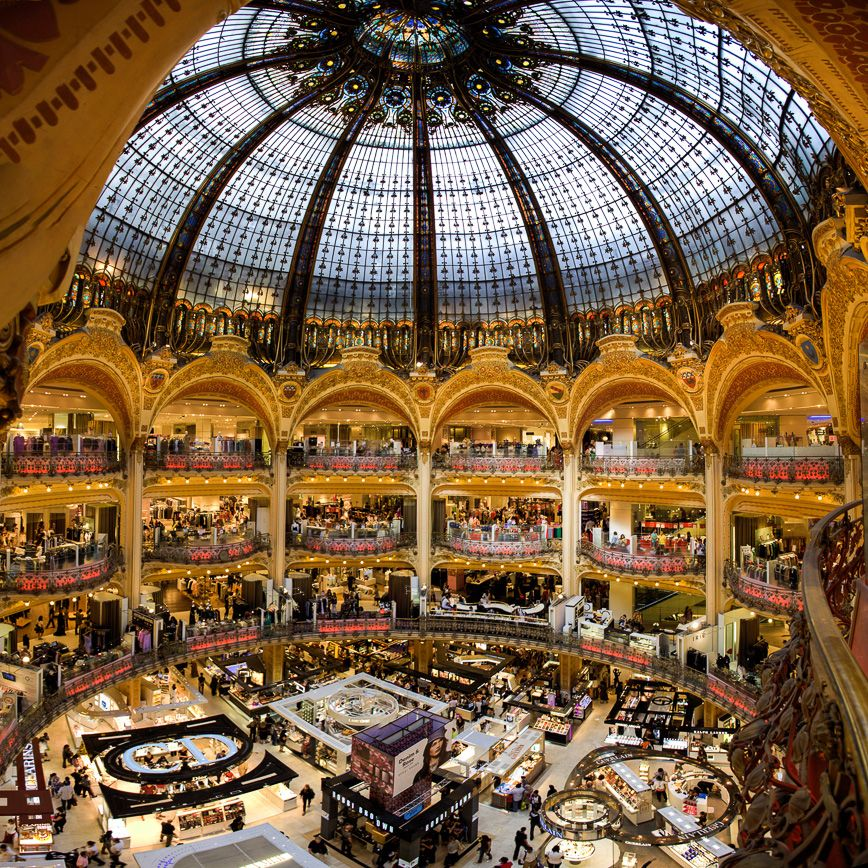 galeries lafayette paris destination x pinterest
