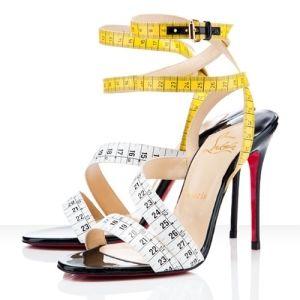 Loubotin Measuring Tape Heels by kristy