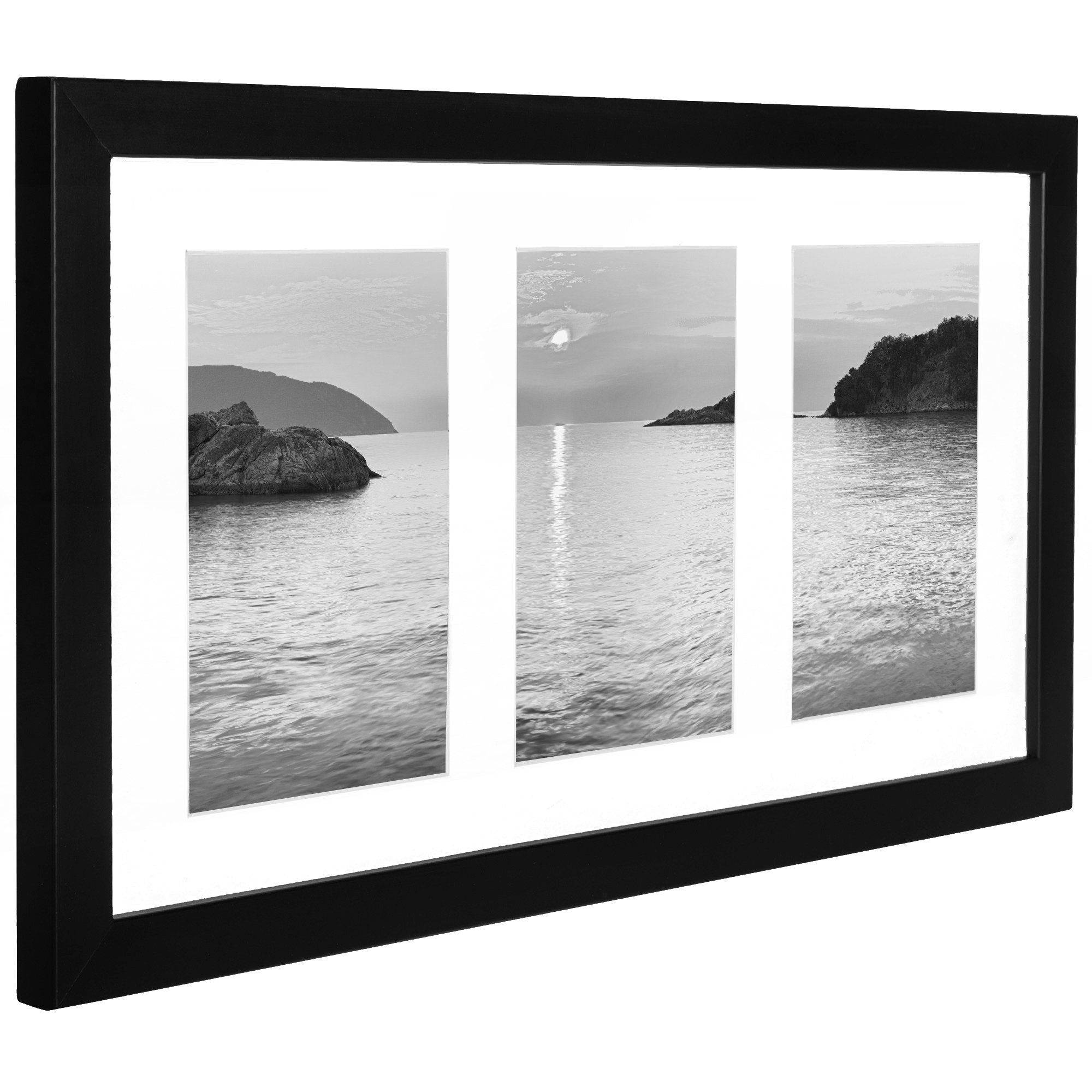Collage Picture Frame 4x6 Displays Three 4x6 Inch Portrait Pictures Photo Collage Frame Perfect Fo Framed Photo Collage Picture Frame Display Picture Collage