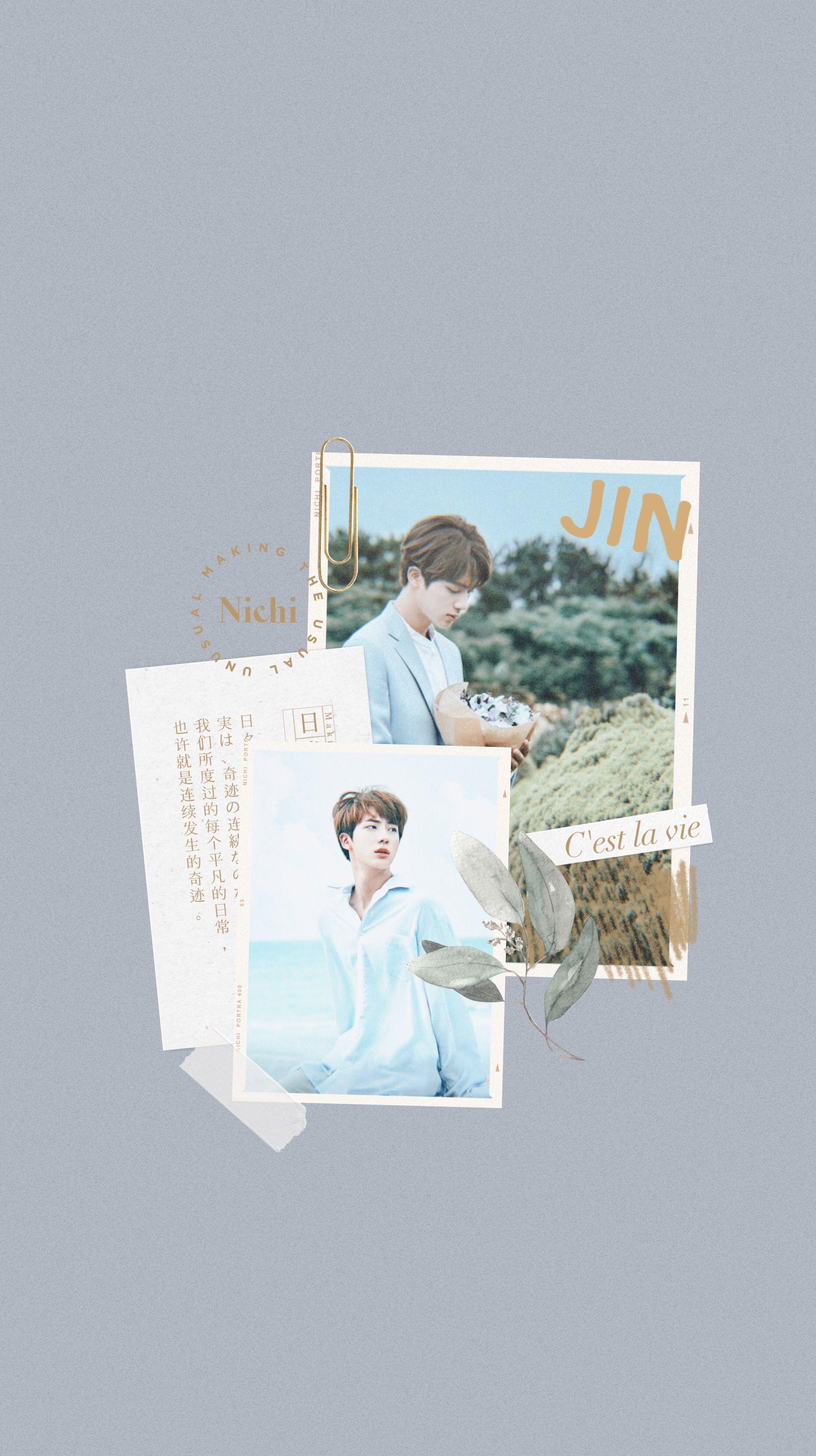 Bts jin wallpaper aesthetic