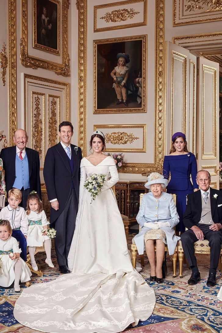 Princess Eugenie and Jack Brooksbank's Wedding Portraits