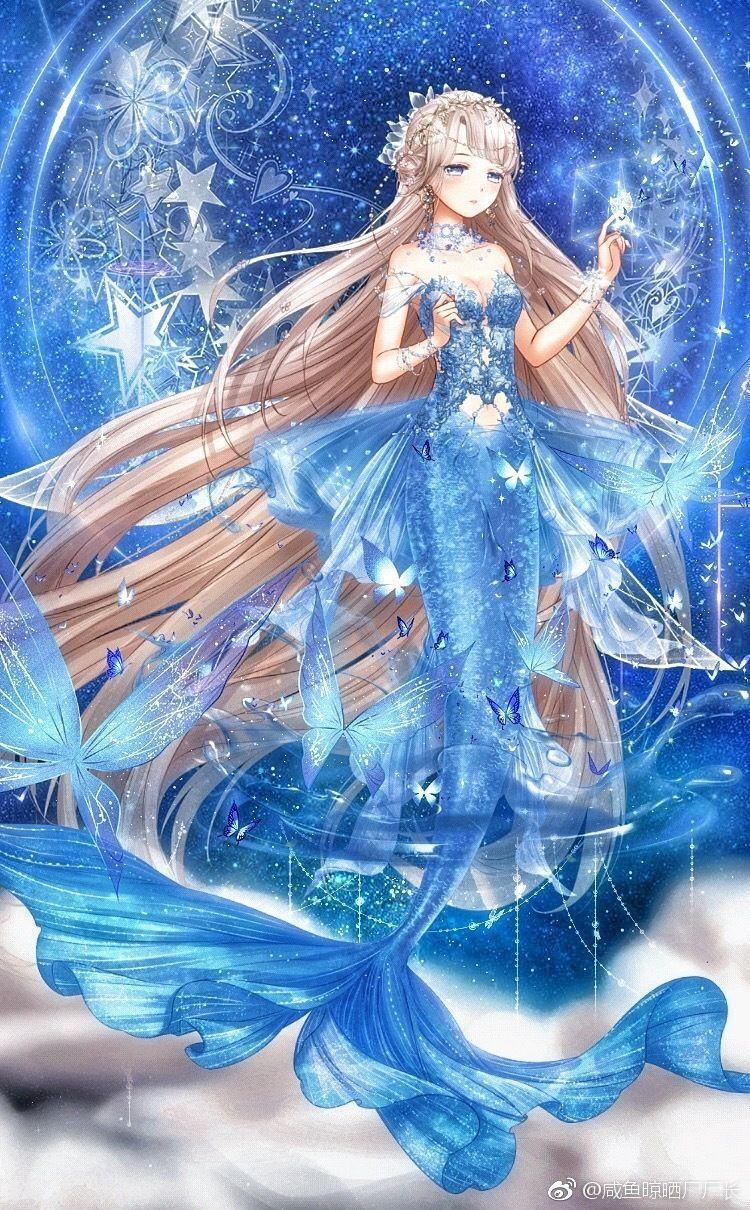 Yandere My Bride Is A Mermaid X Reader Oc Kiya Michishio Anime Mermaid Mermaid Art Anime Art Girl