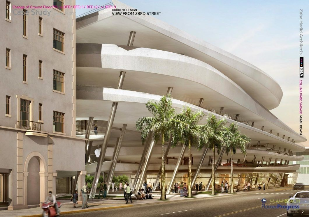 Miami Beach Doesn T Want To Pay For Zaha Hadid S Garage Zaha Hadid Zaha Hadid Architects Architecture