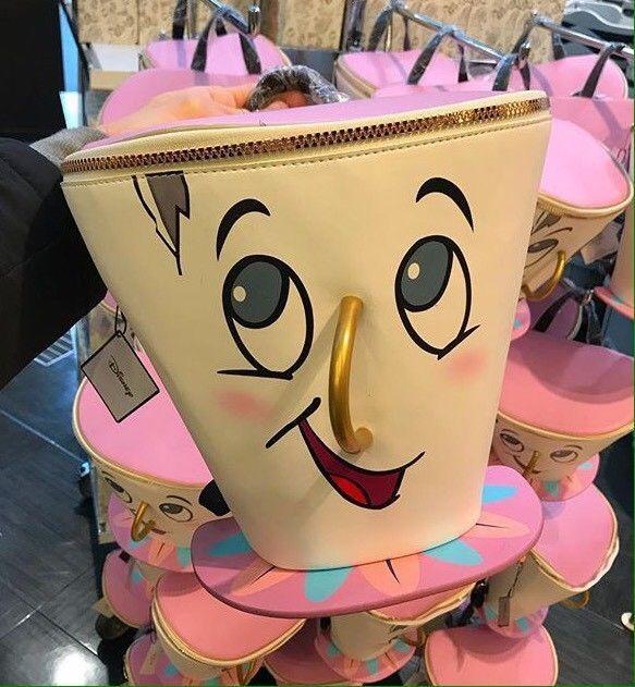 cd0dc1ba32 Primark Disney Beauty And The Beast Chip Backpack Children Rucksack Girls  Bag