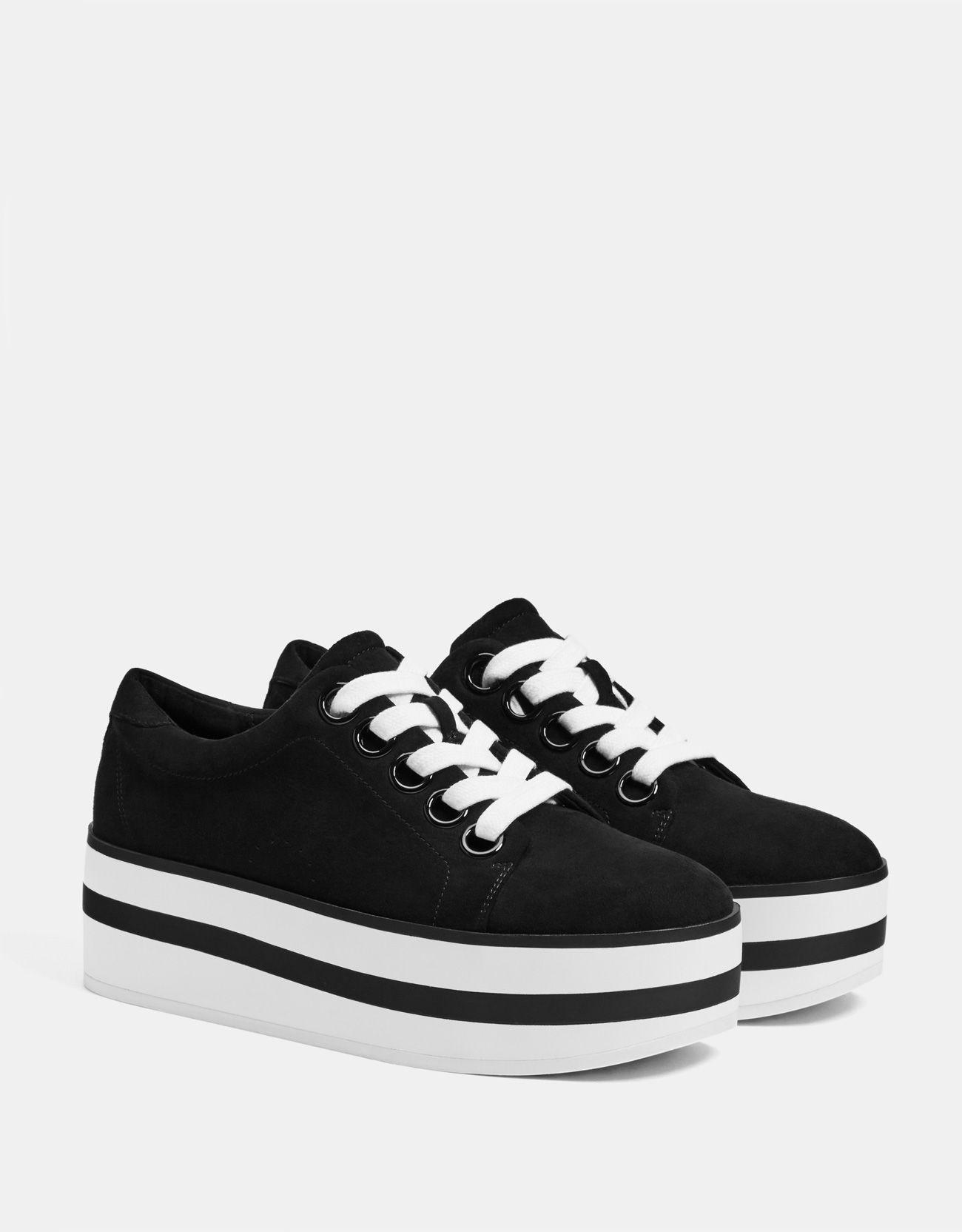 439c0d5366b38 Two-toned platform slip-ons v roku 2019 | s | Sneakers, Fashion ...