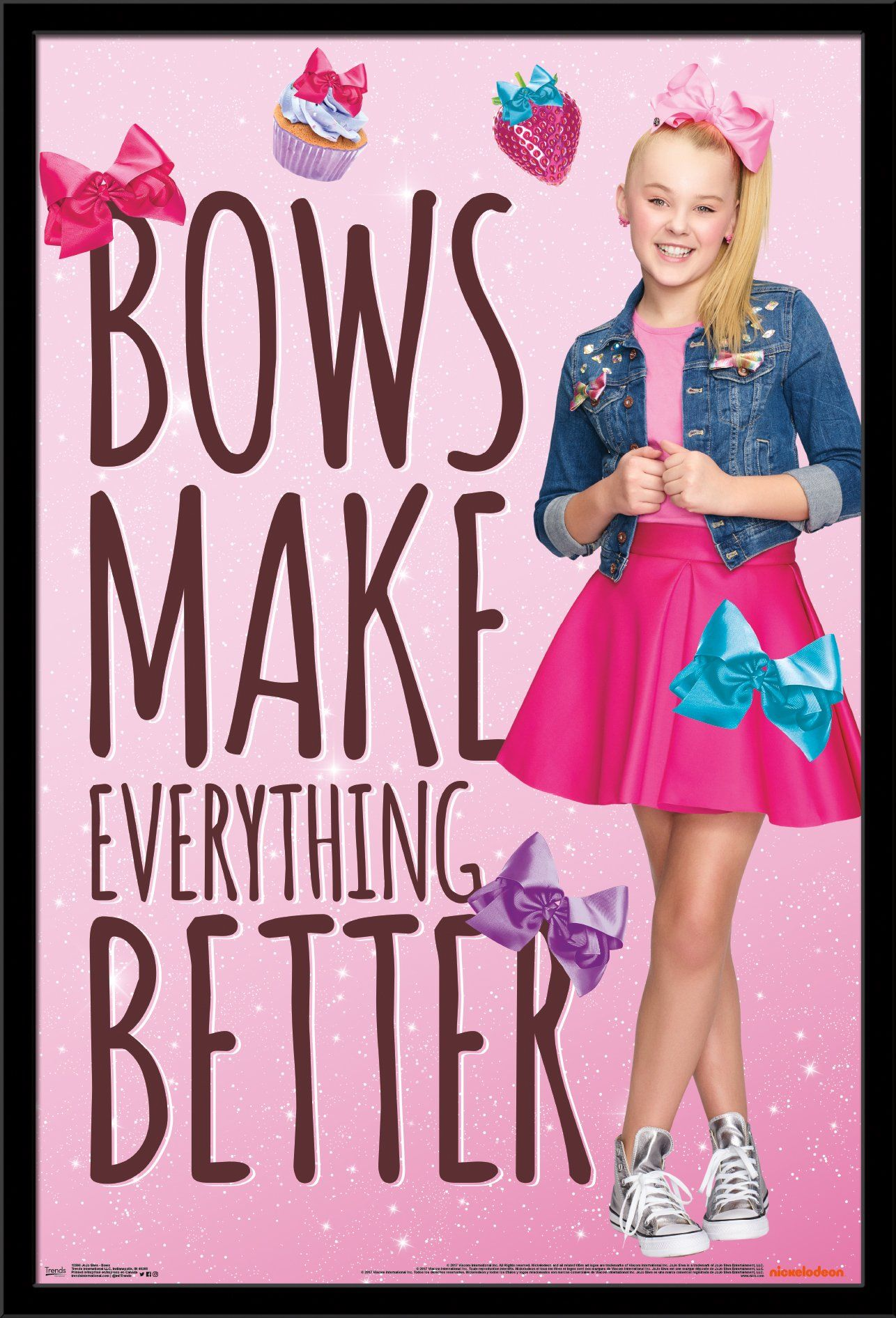 Trends International Wall Poster Jojo Siwa Bows 22 375 X 34 Jojo Siwa Bows Jojo Siwa Jojo Bows