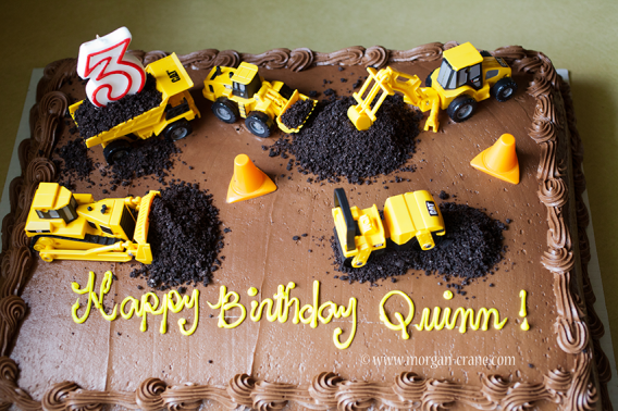 Construction birthday cake idea | 1st and 3rd birthday combined ...