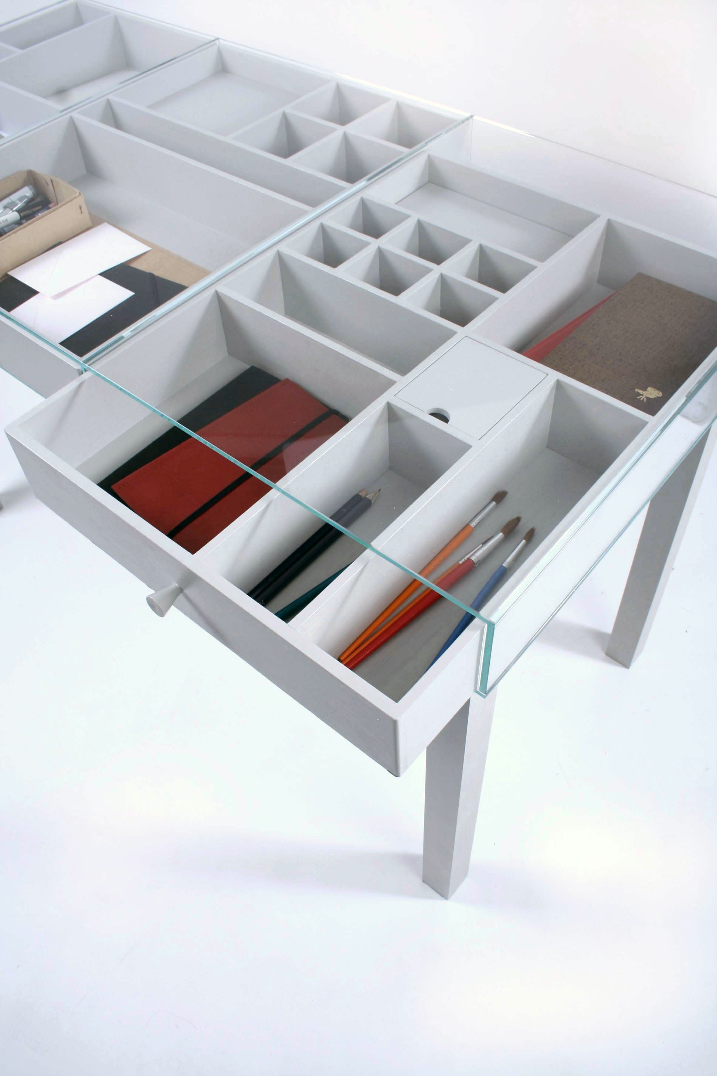 Browsing A Dozen Desks For The Home Office Glass Top Desk Contemporary Modern Furniture Desk With Drawers