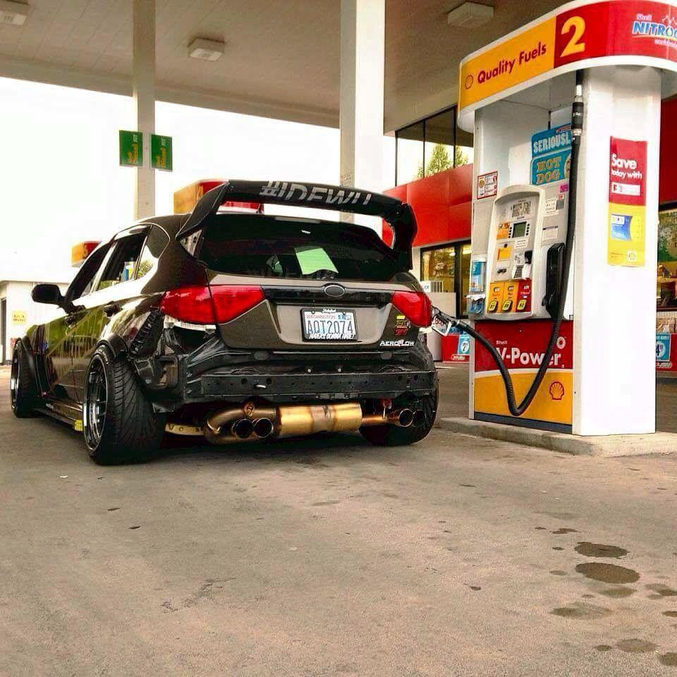 Gentil Subaru Impreza Hatchback (W. Under The Spoiler) Warriors