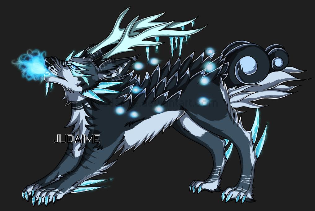 Wolf Dragon Hybrid | Arctic Dragon Wolf Hybrid Adoptable ...