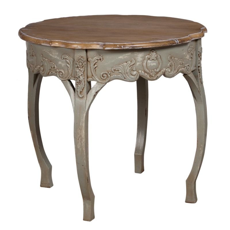 wood top round entry table in 2019 country living i love rh pinterest com