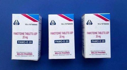 Otc Famotidine Mg Tablet Acid Reflux Reducer Heartburn Gastritis Free Shipp