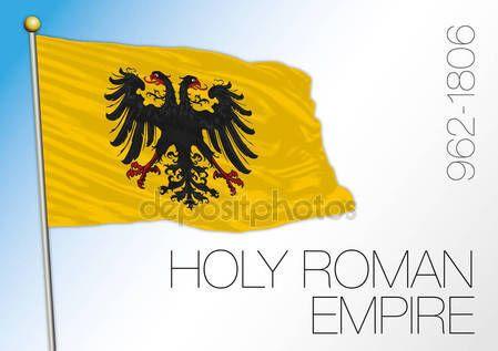 Bandierina storica il Sacro Romano Impero — Vettoriali  Stock © frizio #136618312