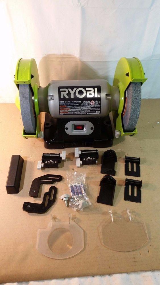 Super Ryobi Bg828G 8 In Bench Grinder 01242017 35 Ryobi Spiritservingveterans Wood Chair Design Ideas Spiritservingveteransorg