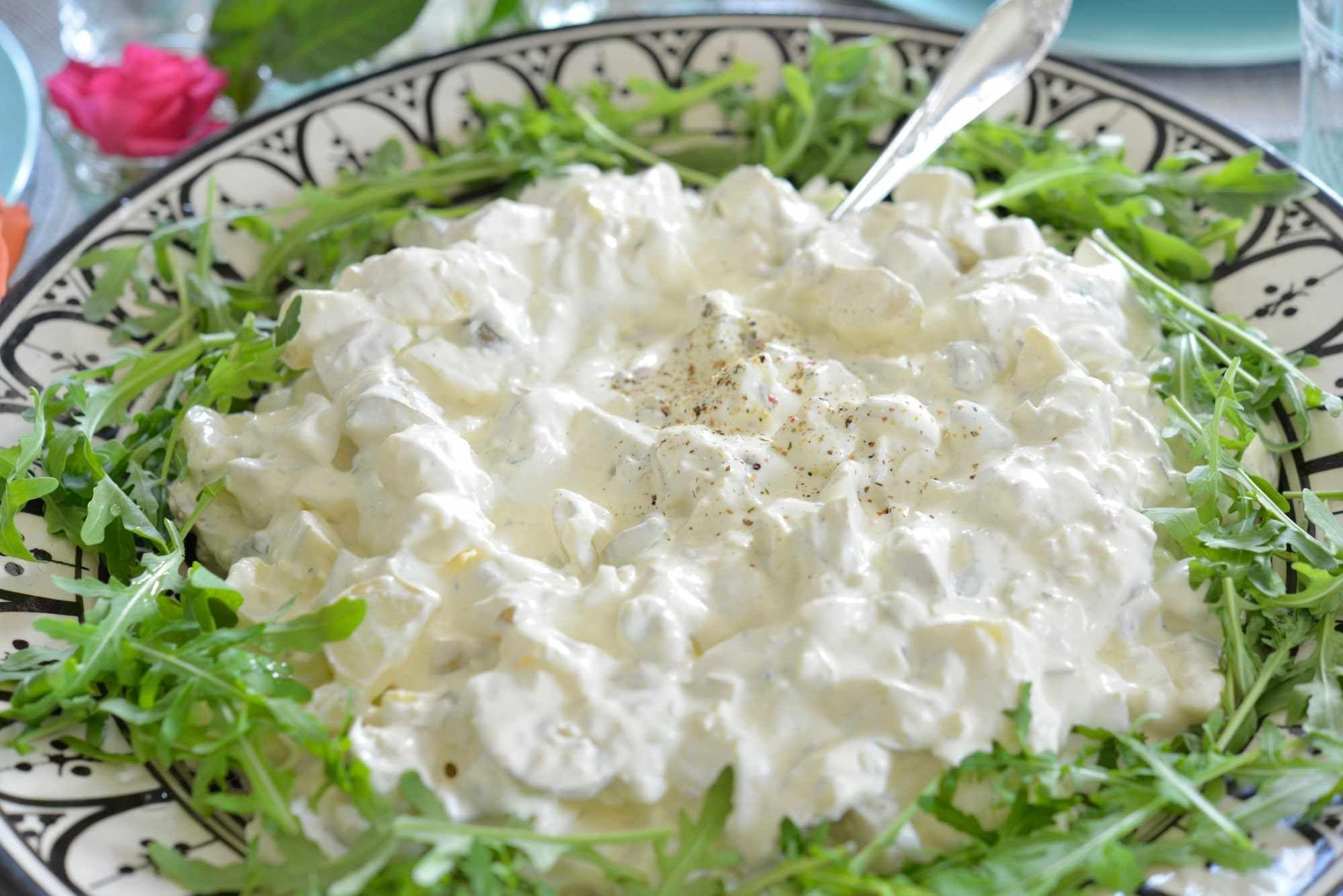 ef1d4a3f9 Verdens beste potetsalat - Farmors oppskrift | Mat | Potetsalat ...