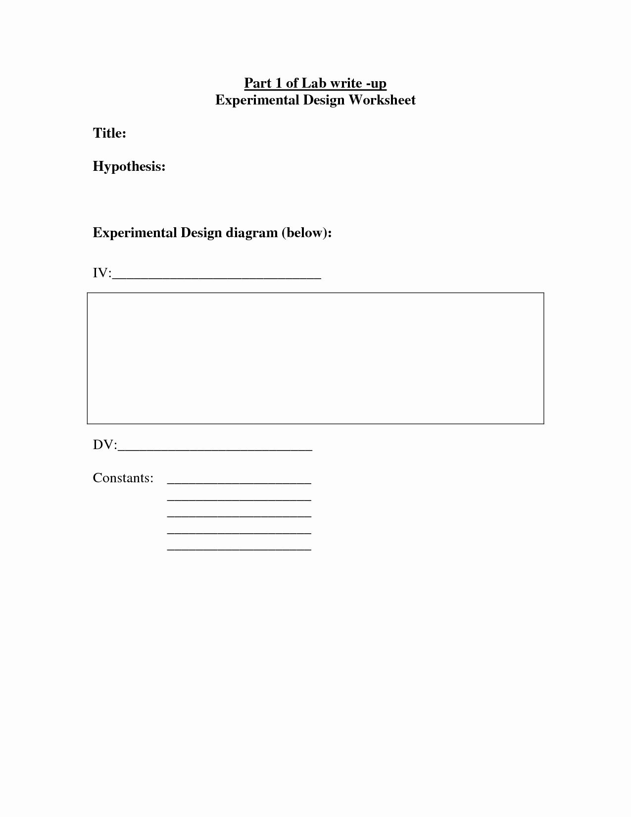 Experimental Variables Worksheet Answers Inspirational 14