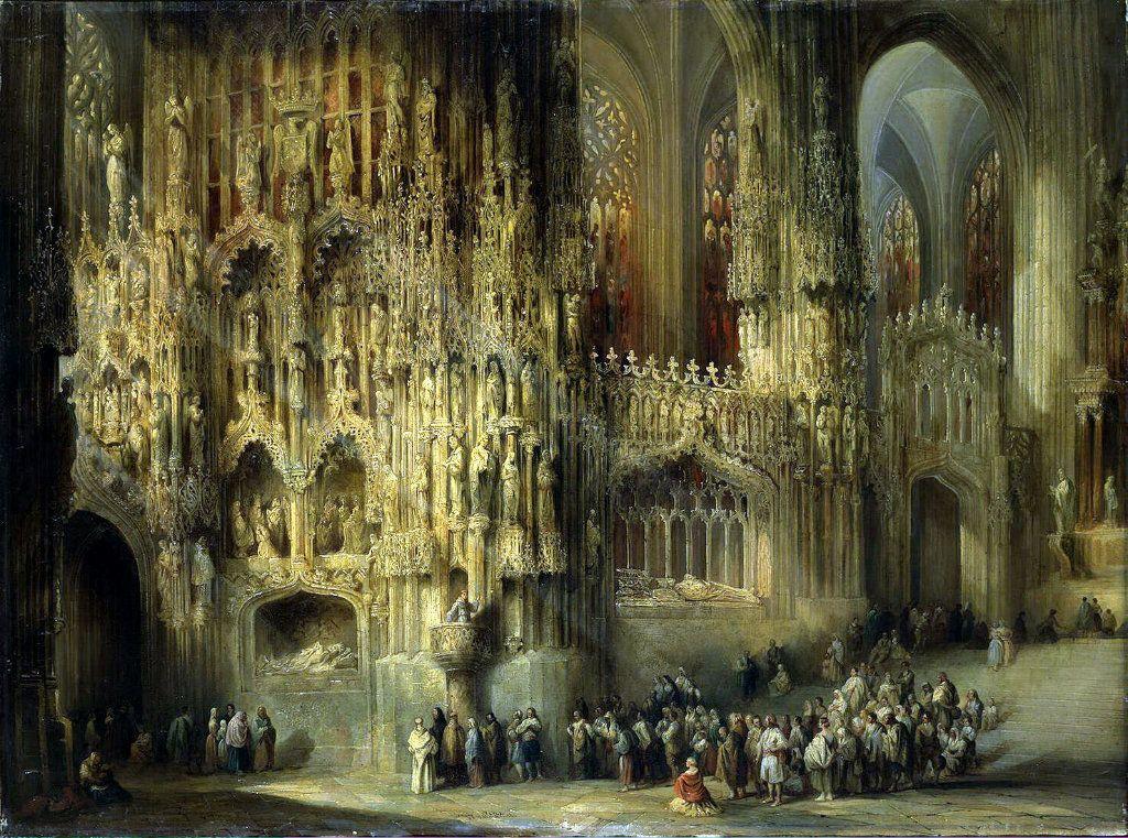 пёсель играет католические церкви в картинах художников считают