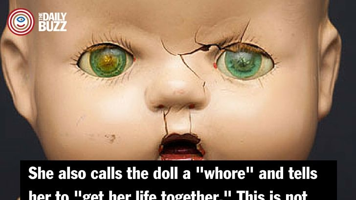 Warning: We found this video of a little girl verbally and physically abusing her doll extremely disturbing and upsetting. You might too.
