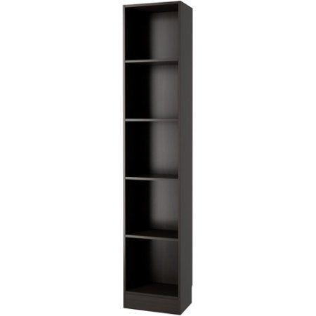 free shipping buy element tall narrow 5 shelf bookcase at walmart rh pinterest com tall narrow shelves