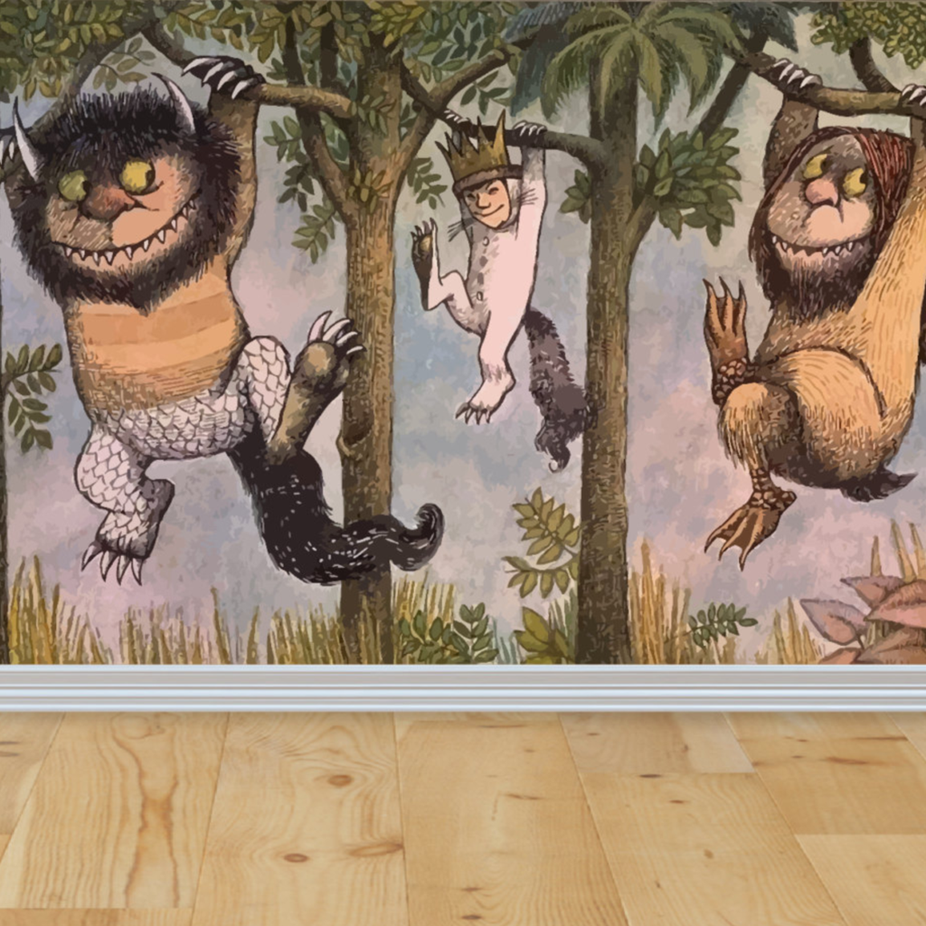Where The Wild Things Are Wall Mural Amazing Interiors Pinterest