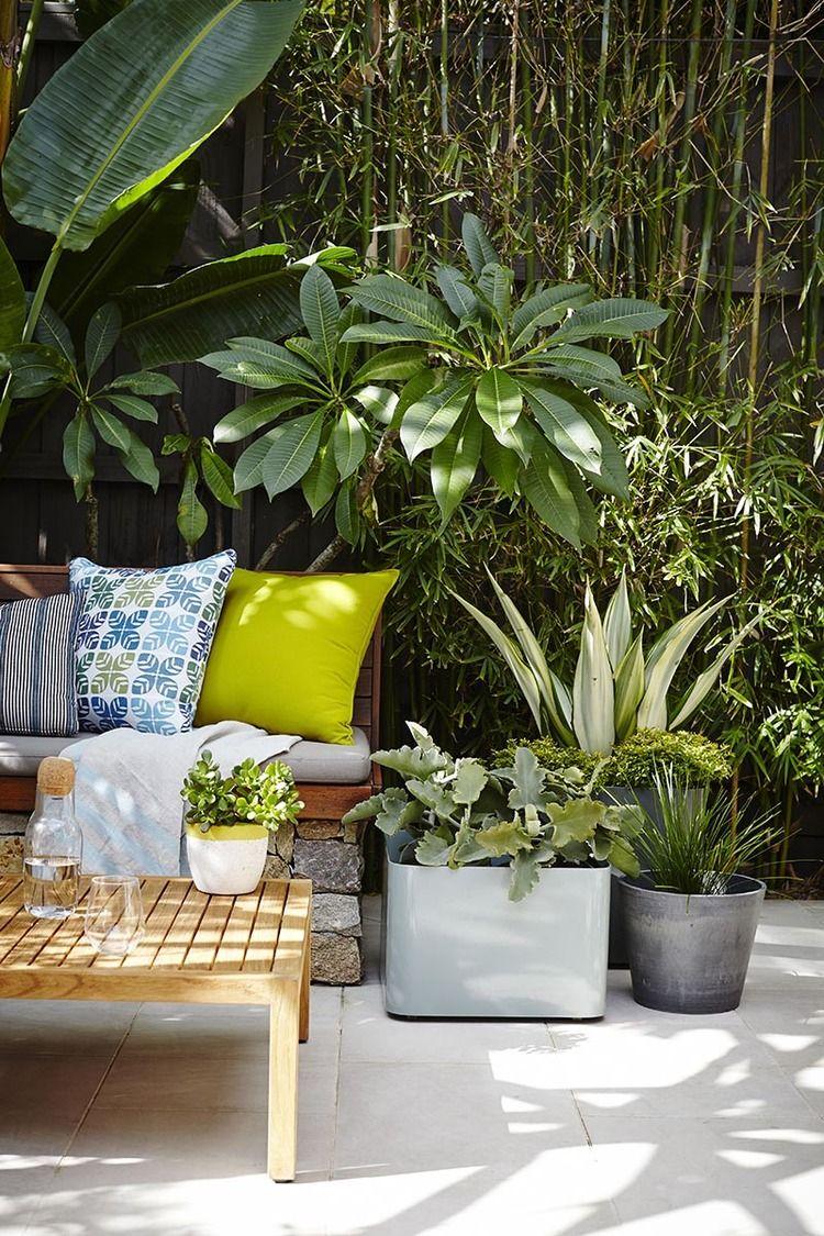 comment donner du cachet son coin ext rieur a balcony garden pinterest coins. Black Bedroom Furniture Sets. Home Design Ideas