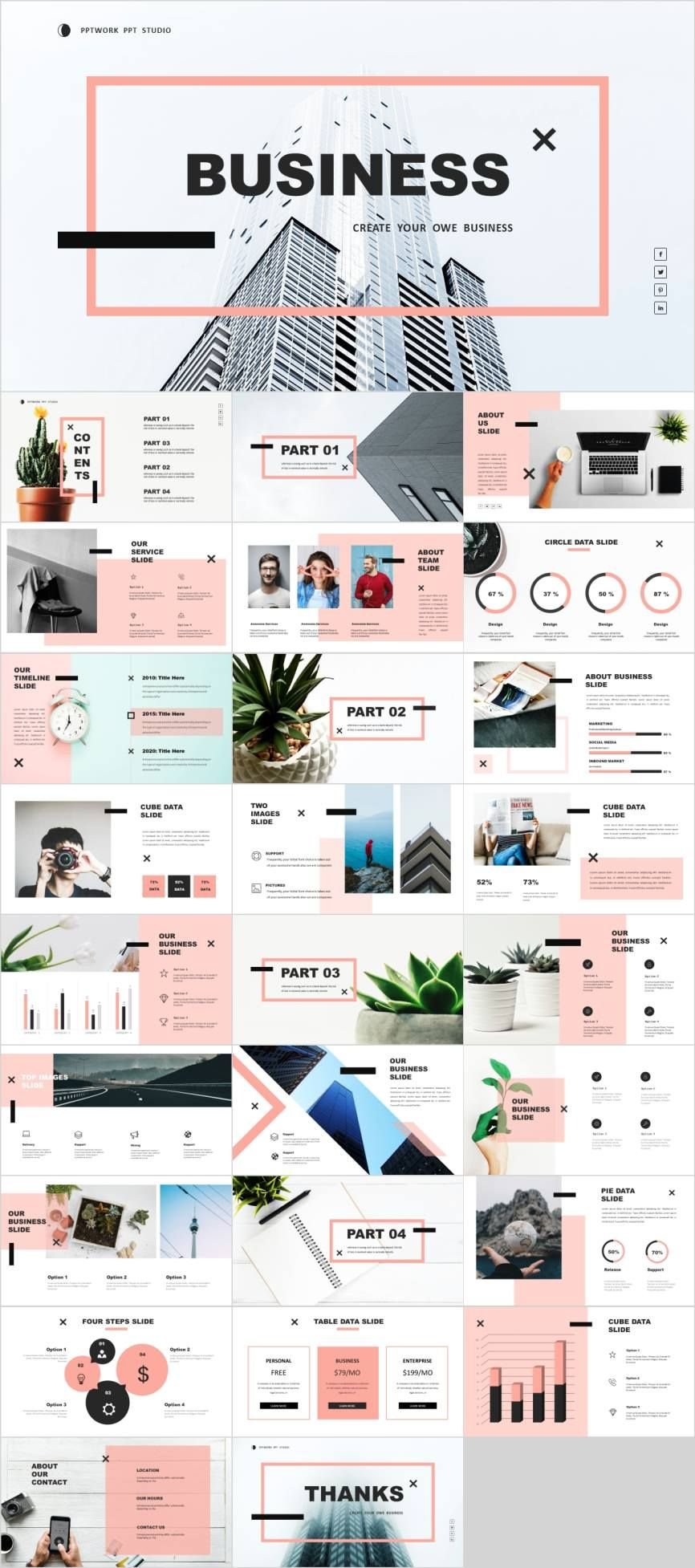 Multipurpose And Minimal Design Powerpoint Template Pcslide Com Powerpoint Presentation Design Powerpoint Design Templates Presentation Design Layout