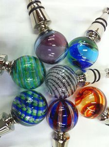 Murano Gl Wine Stoppers Harlequin Motif Add Style To Your Bottles And Carafes With These Hand N Engraved The Logo On