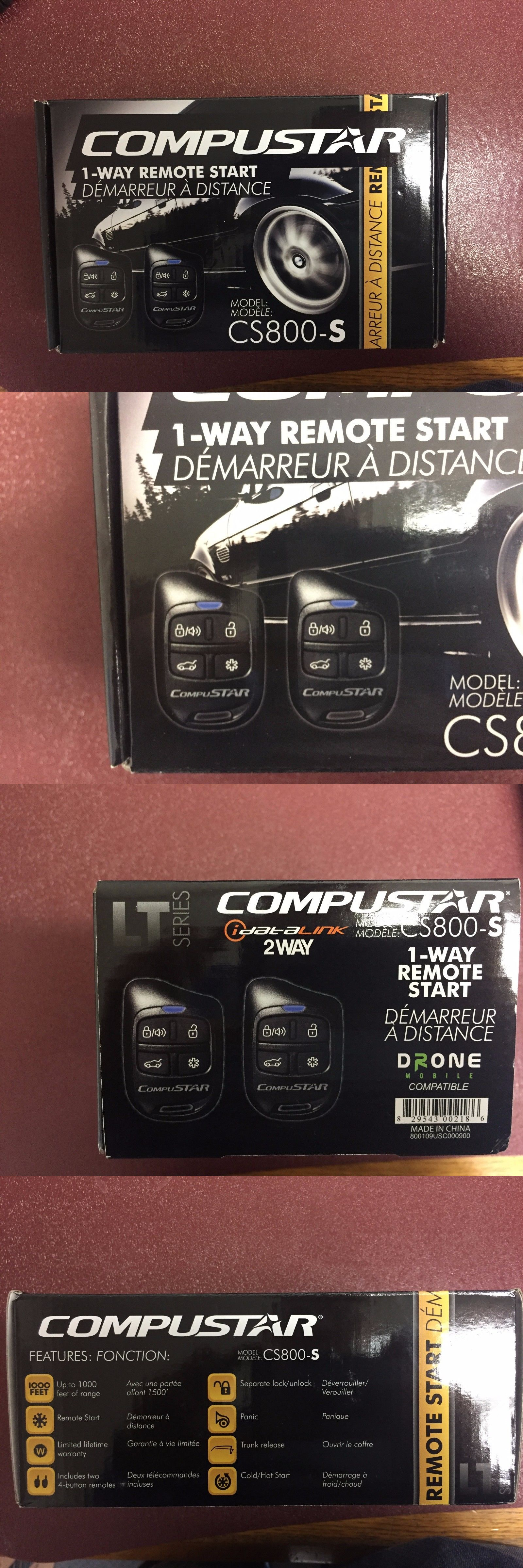 Remote Start and Entry Systems: Compustar Cs800-S 1-Way Remote Start Brand New!! -> BUY IT NOW ONLY: $40.5 on eBay!