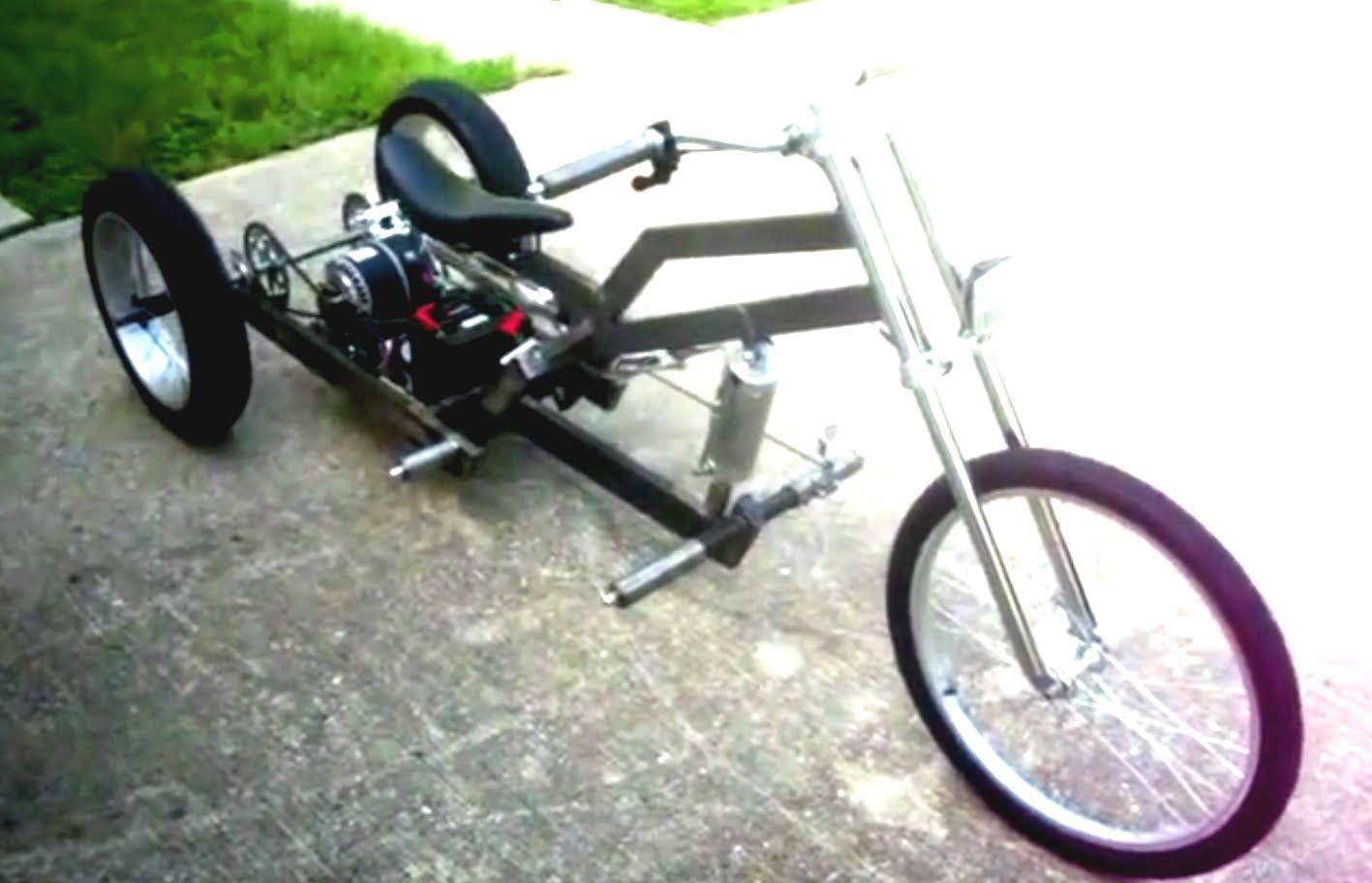 Homemade Electric Trike