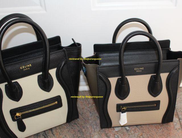 Celine Nano Luggage Bag from counterluxury.cn Review  Comparison (in pics)! ff32e98629ba9