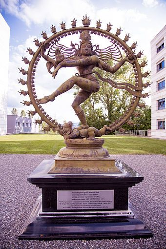 Pin by Priya on Hadron Collider conCERN | Nataraja, Shiva, Dancing shiva