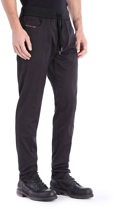 328351f8 Diesel P-FARNELLO-RIB | Men's Fashion | Trousers, Mens fashion, Fashion