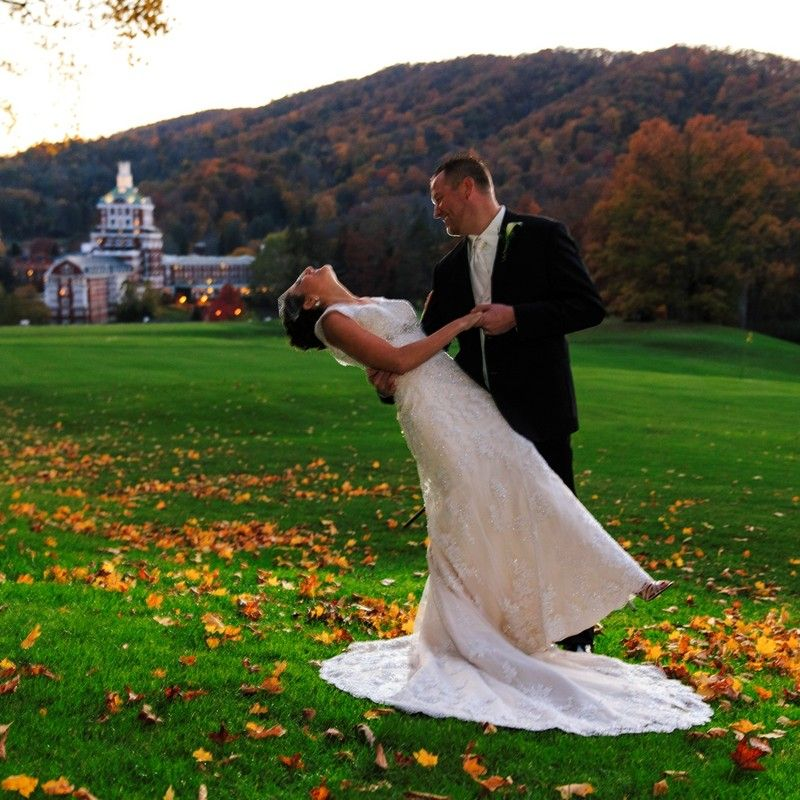 Outdoor Wedding Spots Near Me: The Omni Homestead Resort