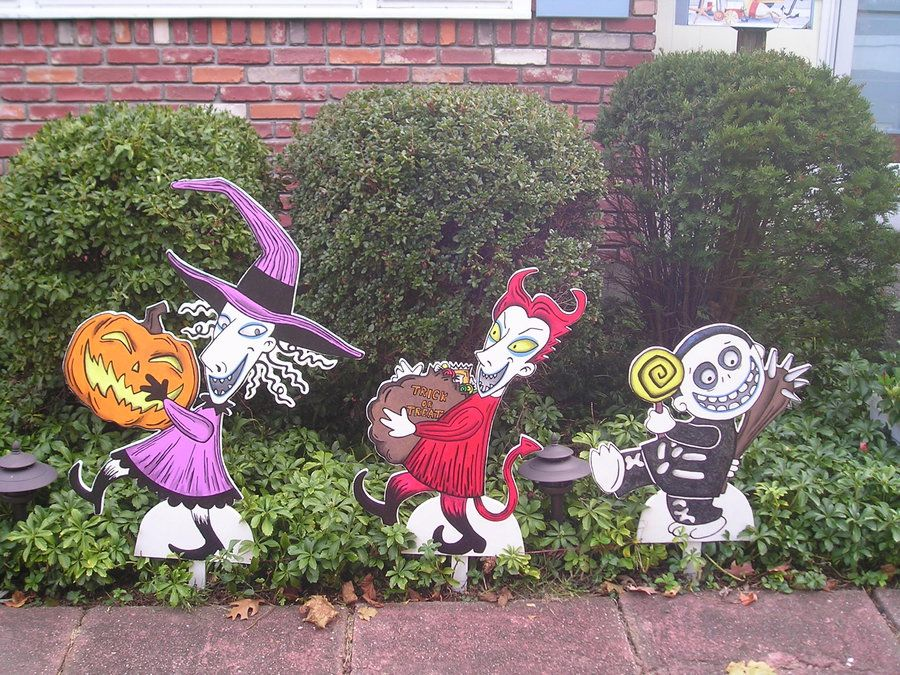 nightmare before christmas halloween decoration by animegeer - Nightmare Before Christmas Lawn Decorations