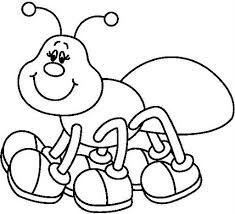 hormigas para colorear  Buscar con Google  Para colorear  Pinterest