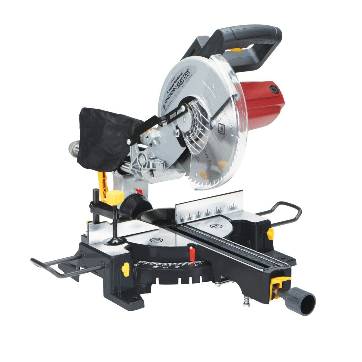 10 In Compound Miter Saw With Laser Guide System Sliding Compound Miter Saw Compound Mitre Saw Miter Saw