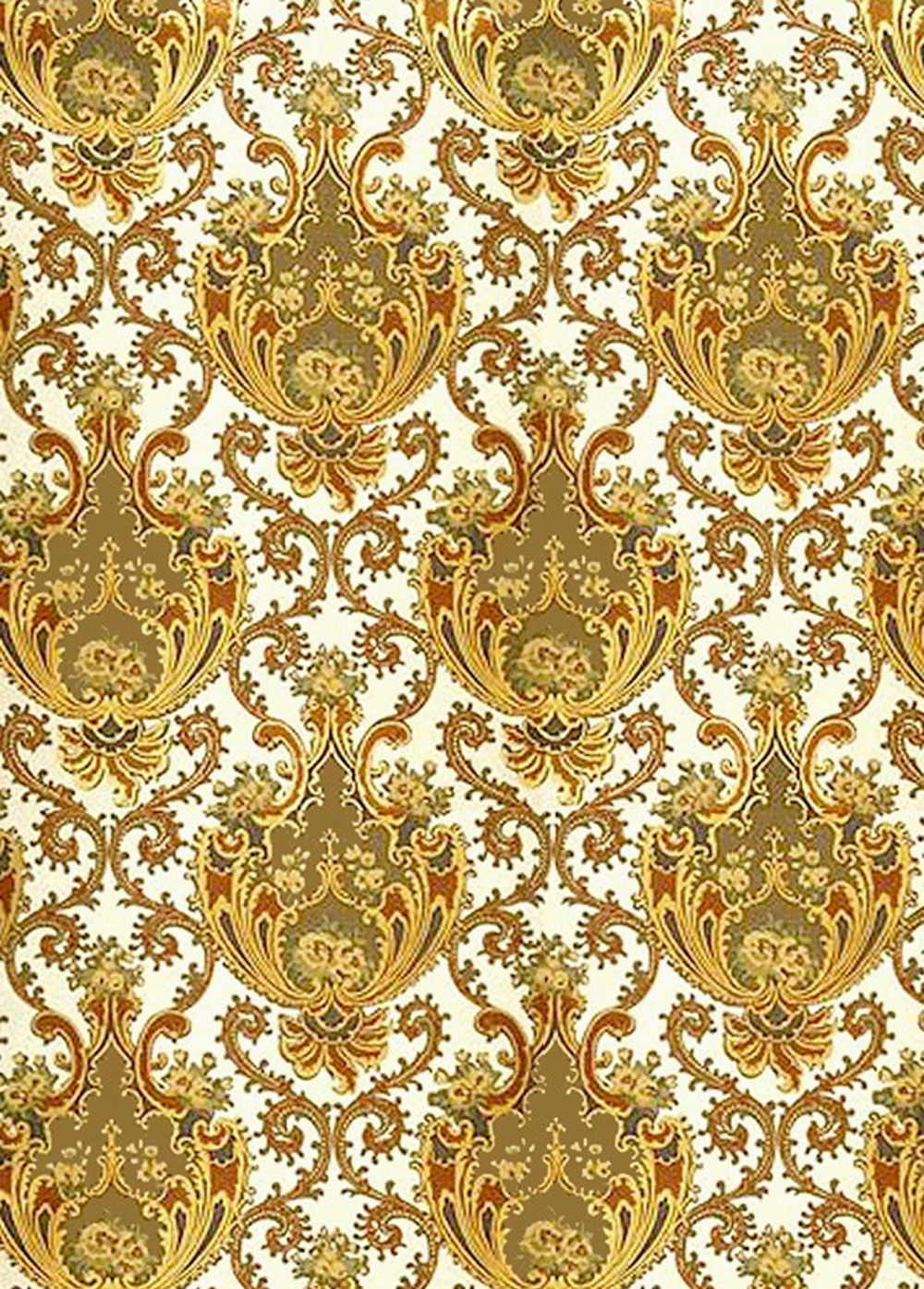 Rococo wallpaper. The emphasis in this wallpaper is
