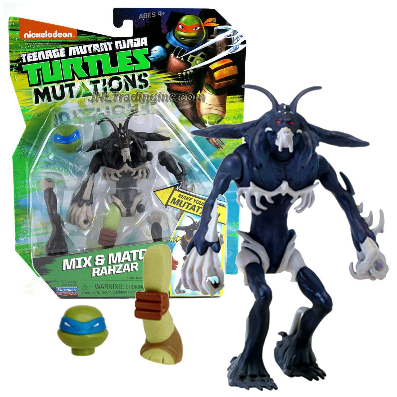 Teenage Mutant Ninja Turtles mutations ~ Rahzar ~ Mix /& Match Teenage Mutant Ninja Turtles action figure